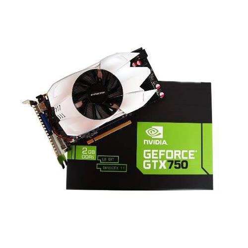 Placa de Vídeo nVidia Geforce Gtx750 2GB DDR5 128Bit DirectX 11