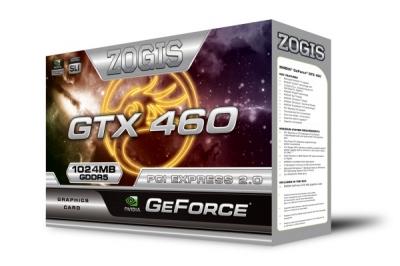 Vga Gtx460 1gb Ddr5 Pci-e Zogis Zogtx460-1gd5h