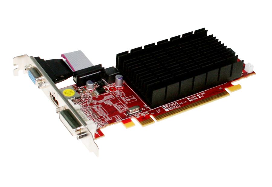Placa de Vídeo Sapphire Radeon HD6450 1GB 64 Bit DDR3 PCI Express 2.1 - Semi Nova