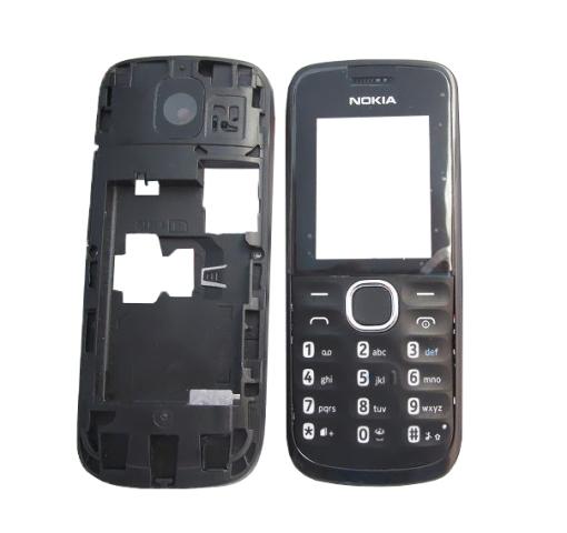 Carcaça Chassi Nokia 110 Preta - Semi Nova