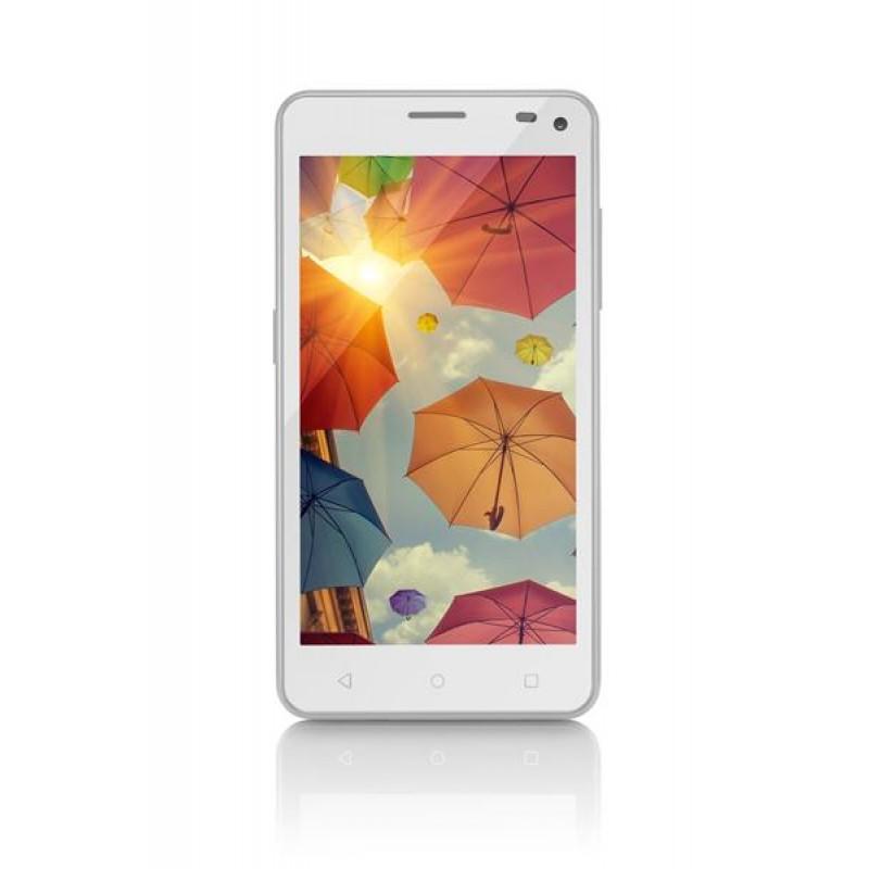 Celular Multilaser MS50 5 Polegadas 8Mp 3G Quad Core 8GB P9002 - Branco