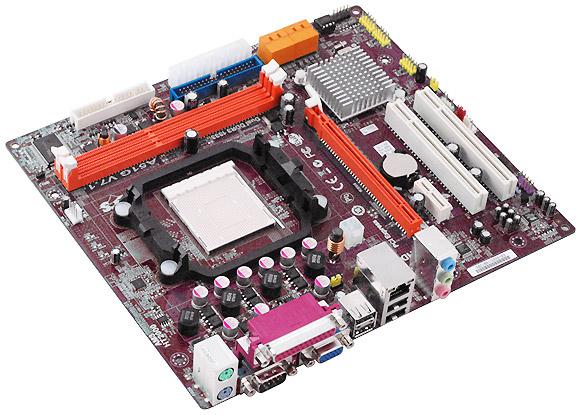 PLACA MÃE PC CHIPS A51G AM3 DDR3