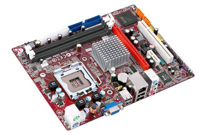 PLACA MÃE 775 PC CHIPS P49G DDR3