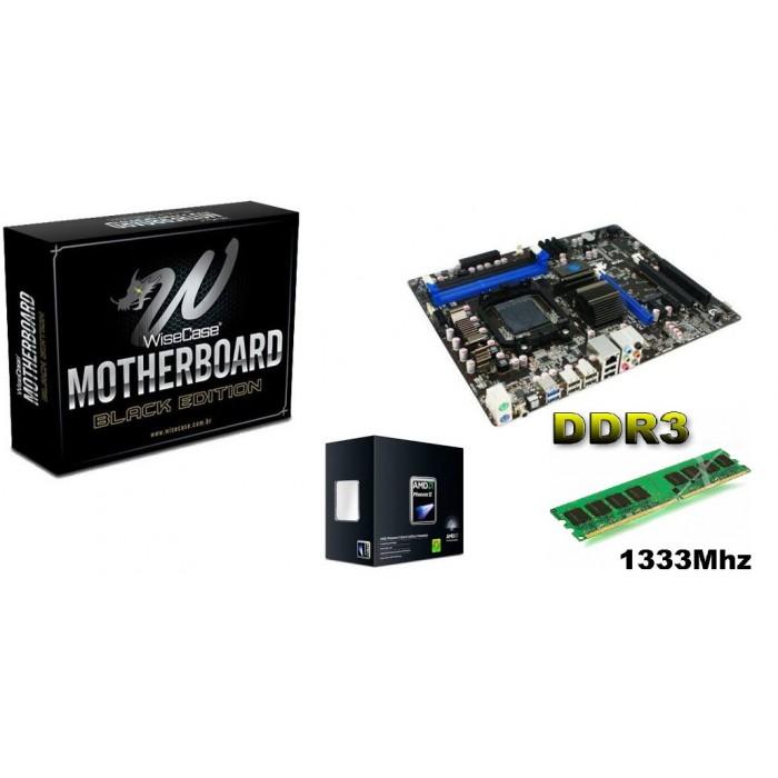 KIT PHENOM 965 3.4GHZ / MB HA18PL 990X / 4GB 1333MHZ MARKVISION