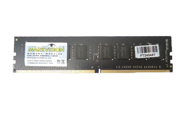 Memória Markvision 4GB DDR4 2400Mhz 1634K - MVD44096MLD-24