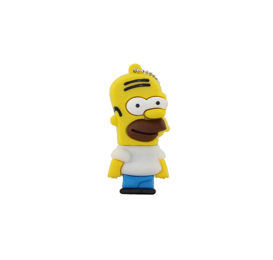 PenDrive Os Simpsons 8GB USB 2.0 - Homer