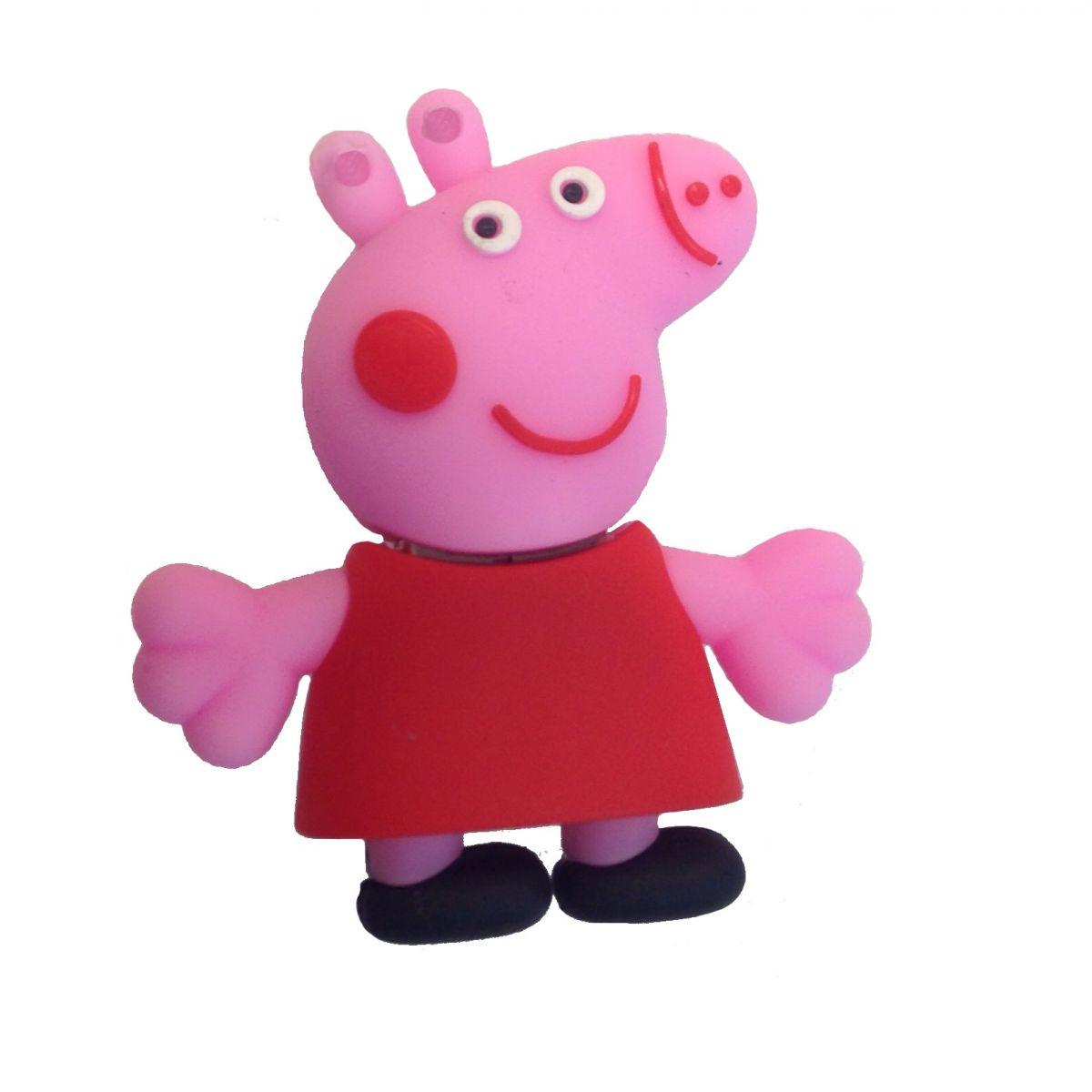 PenDrive Desenho Animado Peppa Pig USB 2.0 8GB