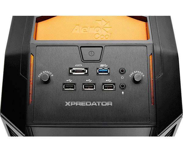 Gabinete Aerocool - Xpredator Evil Black Edition
