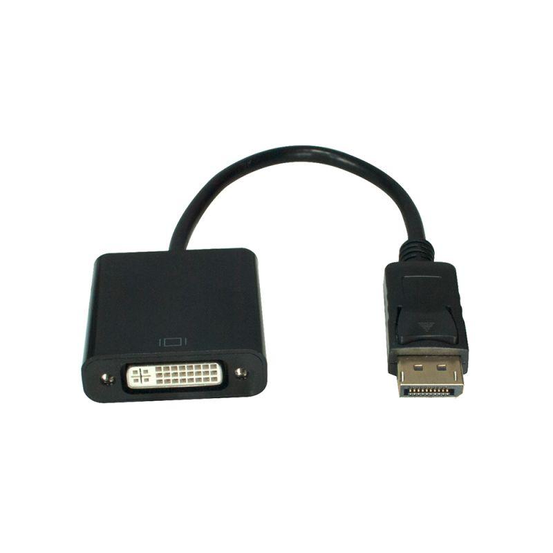 Adaptador Displayport Macho X DVI Fêmea X-Cell XC-DPxDVI-F