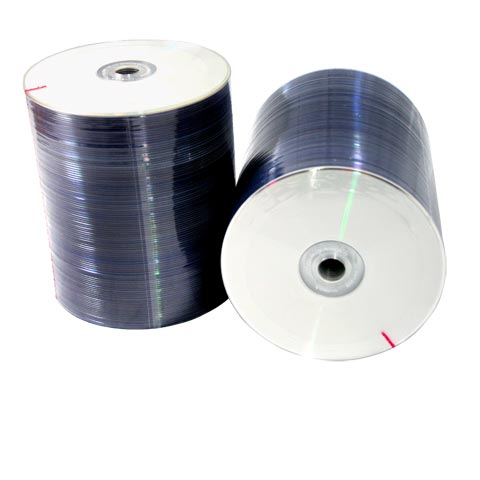DVD-R VIDEOLAR PRINTABLE TUBO C/ 100 UNIDADES