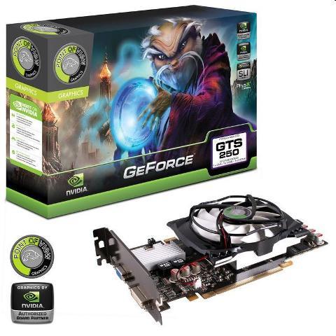 VGA GeForce GTS250, 512MB DDR3 PCI-EXPRESS R-VGA150924-2