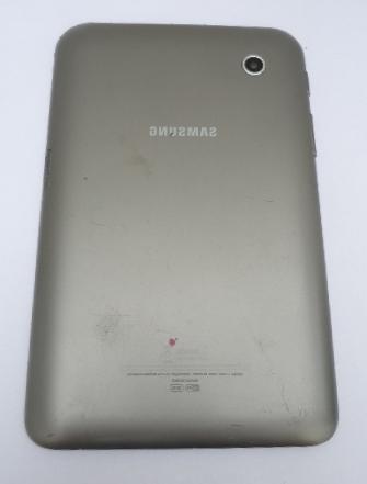 Tampa Traseira Tablet Samsung Galaxy GT P3110 - Cinza