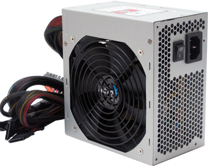 Fonte Aerocool 600W Eco Friendly E80-600 PFC Ativo - BOX