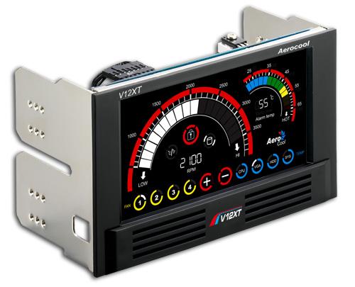 Controlador de fan Aerocool V12XT