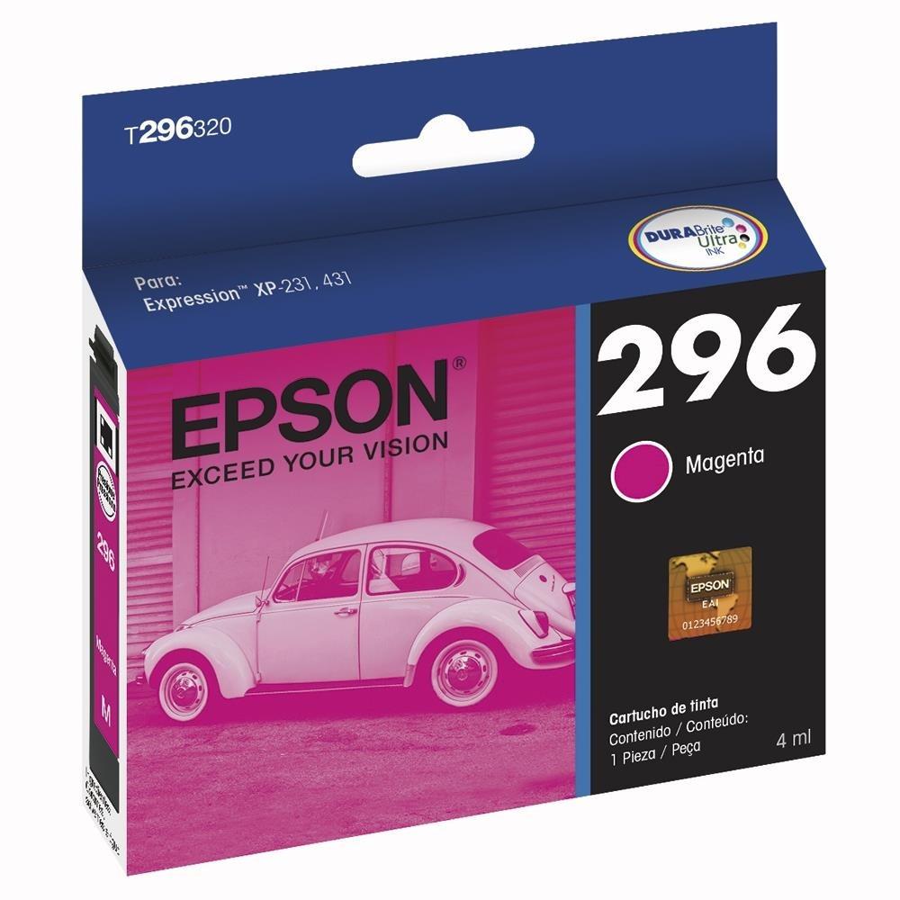 Cartucho 296 Magenta Impressora Epson Xp231 / Xp431