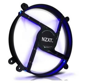 CASE FAN COOLER P/ GABINETE 20CM 200mm FS-200RB BLUE LED- NZXT