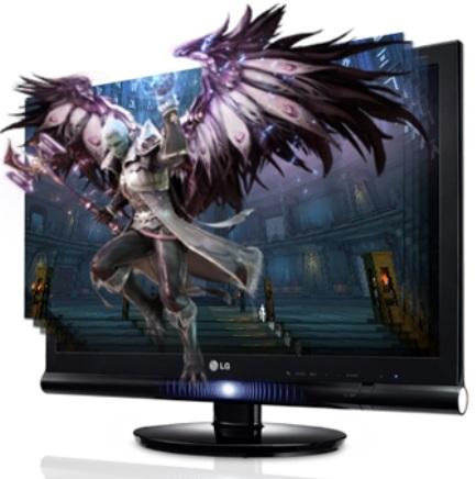 MONITOR LCD LG 3D 23´ 2363D FULL HD HDMI 120HZ