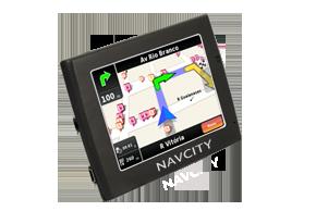 GPS NAVCITY Way30 Rota Certa, Alerta Radar HunteRadar e Transmissor FM