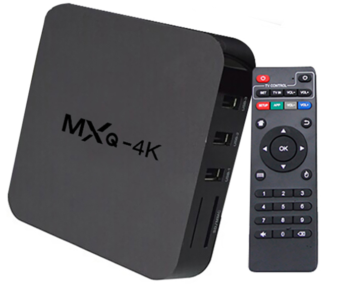 Tv Box Smart Tv Android 6.0 Mxq 4k Hdmi Wifi Netfix Kodi Fac