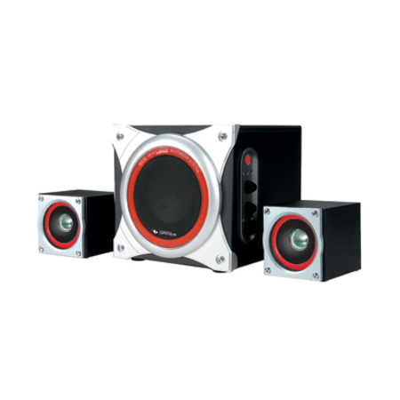Sistema de Som Leadership - 2.1 Metal 11 RMS 6020