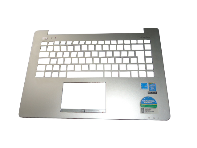 Carcaça Superior Notebook Asus X451 - Cinza