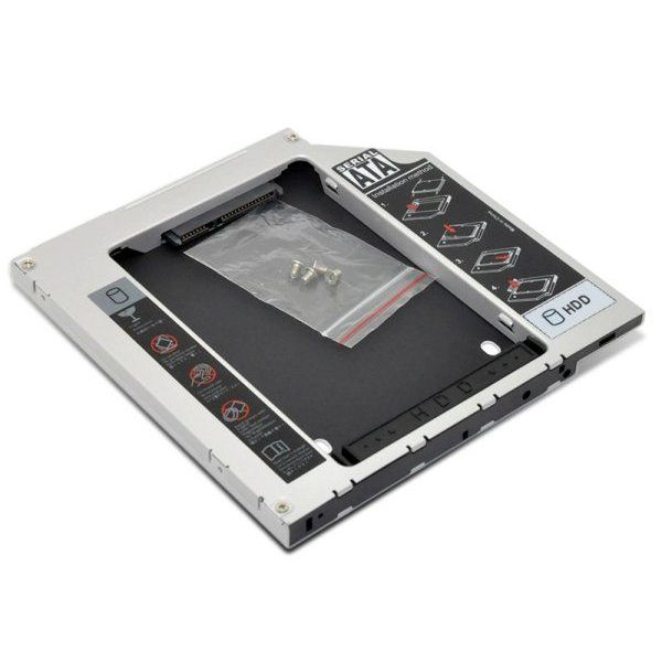 Gaveta Interna 2.5'' Slim Sata Second HDD Caddy 12,7mm