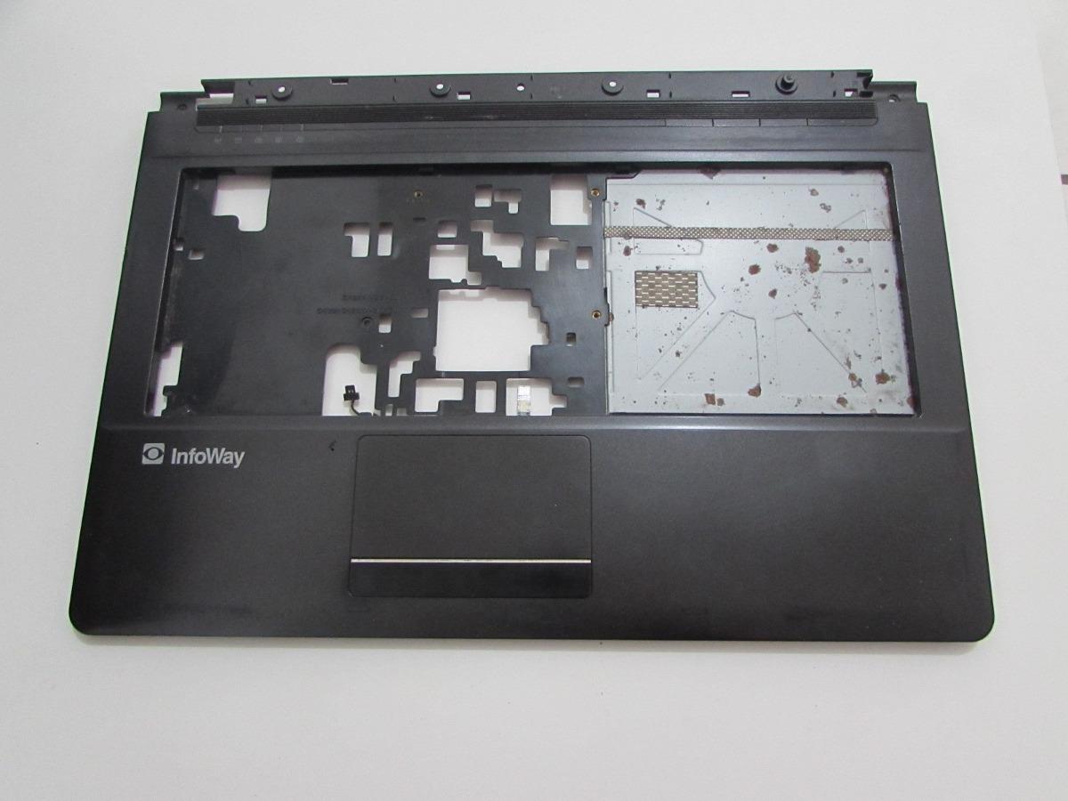 Carcaça Base Superior Notebook Itautec W7425 - Semi Nova
