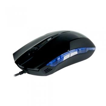 Mouse Óptico USB 2400dpi Cobra Preto E-BLUE