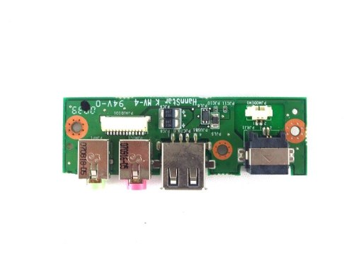 Placa de Áudio Conector USB RJ11 Notebook Positivo Mobile V53