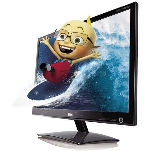 Monitor LG LCD 23´ LED LG 2342P 3D - Full HD (alta definição) - 5ms - HDMI - com Oculos 3D