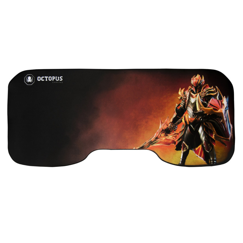 Mousepad Gamer Gigante Octopus Colossus Fire Knight 80x35cm 2-0103-559