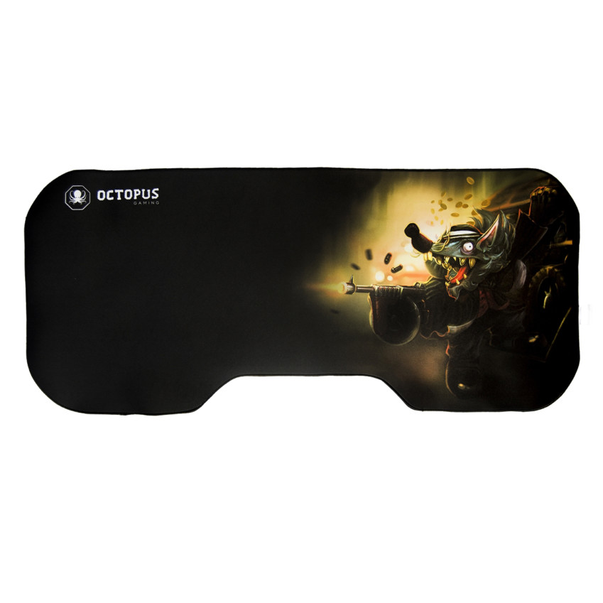 Mousepad Gamer Gigante Octopus Colossus Rat Gun 80x35cm 2-0103-561