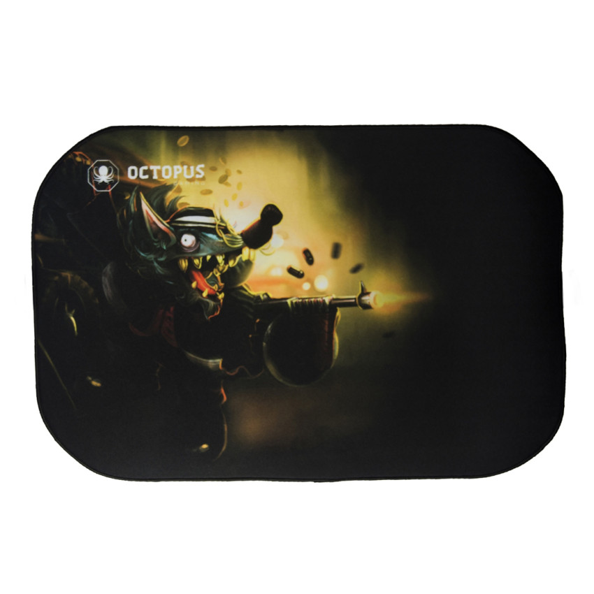 Mousepad Gamer Grande Octopus Giant Rat Gun 45x30cm 2-0104-561