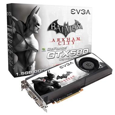 GPU GTX580 SC 1.5GB DDR5 BATMAN EDITION 015-P3-1582-A1 - EVGA