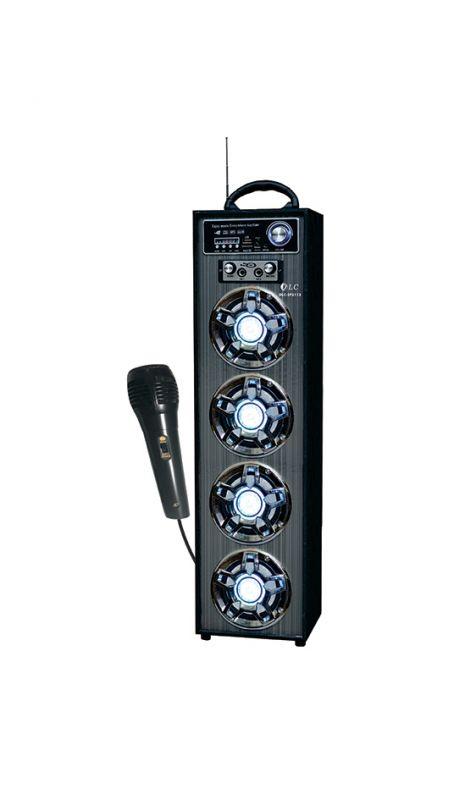 Caixa de Som Amplificada Bluetooth C/ Microfone USB FM SD 20w XC-3104BT