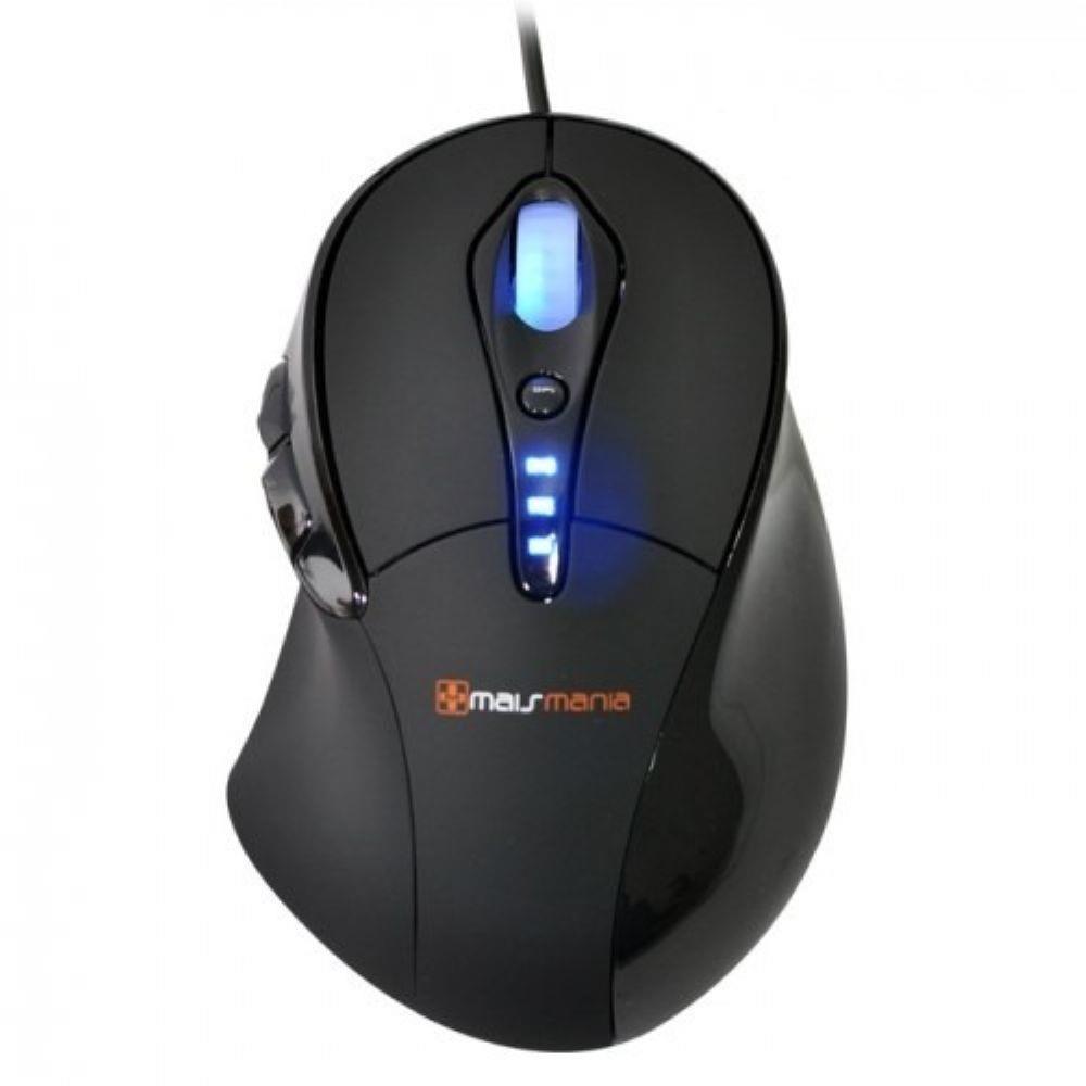 Mouse Gamer Shotgun Laser 3400DPI Mais Mania - MMX632