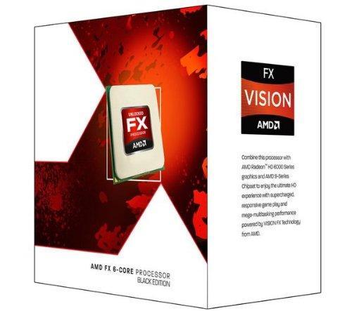 Processador AMD FX-6100 Zambezi 3.3GHz Socket AM3+ 95W Six-Core Desktop Processor FD6100WMGUSBX