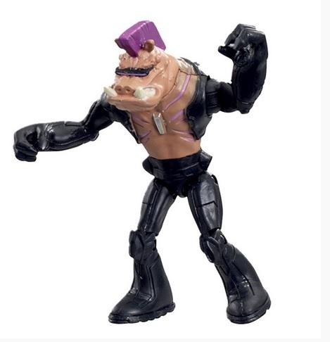 Boneco Figura de Ação Colecionável Tartarugas Ninja TMNT 12CM Bebop BR118