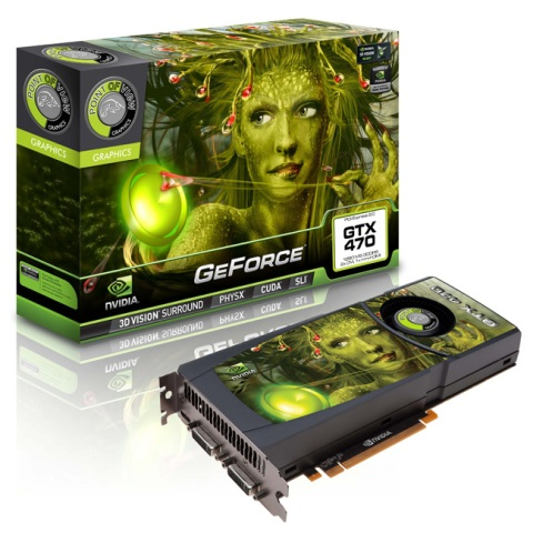 VGA GeForce GTX470 - 1280MB DDR5 POINT OF VIEW
