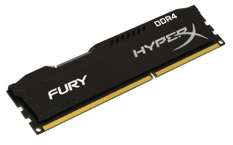 Memória 8gb Ddr4 2400mhz 1.2v Hyperx Fury Preta HX424C15FB2/8