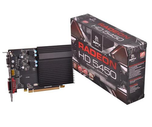GPU HD5450 2GB DDR3 PCIE XFX HD545XCDH2