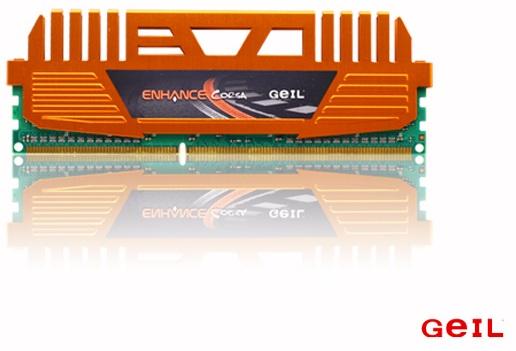 MEMÓRIA DDR3 ENHANCE GEIL CORSA 4GB SINGLE CHANNEL PC3-12800 1600MHz C9