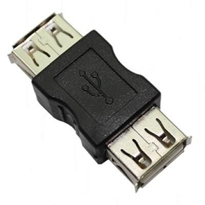 Conector/Adaptador  USB Fêmea x USB Fêmea