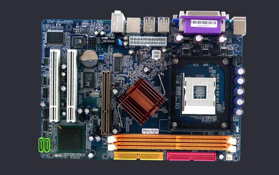 PLACA MÃE P/ INTEL SOCKET 478P 865GVKL DDR400 P/ P4, CELERON OEM