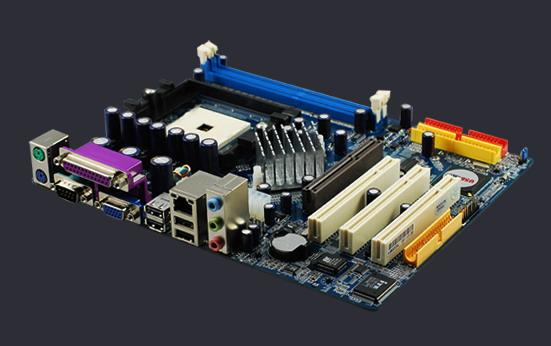 PLACA MÃE AMD 754 K8M800AL DDR AGP OEM