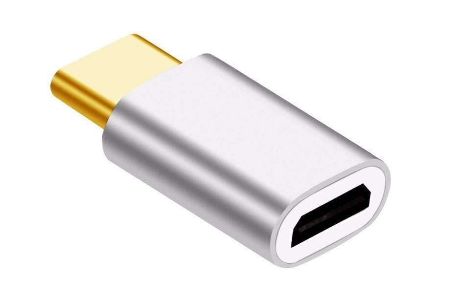 Adaptador USB Tipo C p/ Micro USB