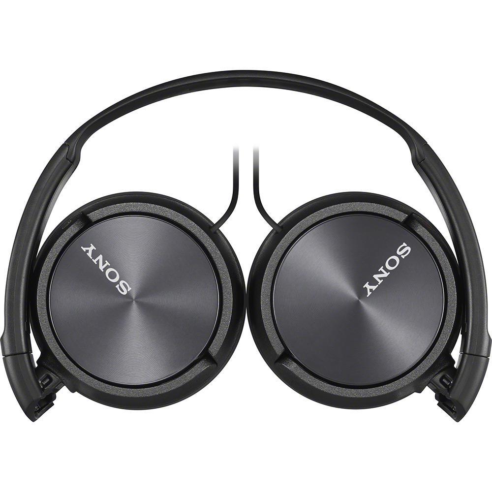 Fone de Ouvido Headphone MDR-ZX110/BC Sony Preto