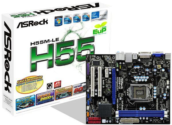Placa Mãe Asrock H55M-LE - LGA 1156