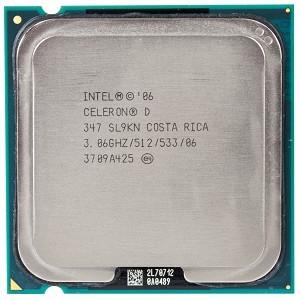 Processador Celeron 775 D 347 / 3.06ghz/512/533 Sl9xu