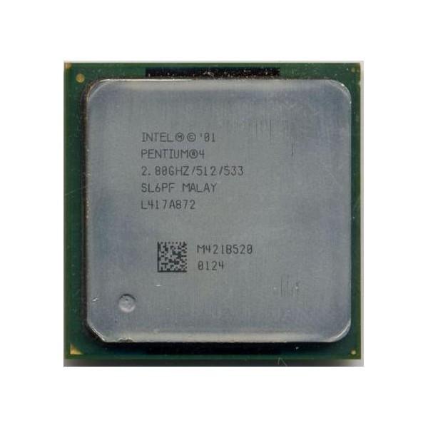 Processador Intel Pentium 4 478 2.8 GHz SL6PF (Semi novo)